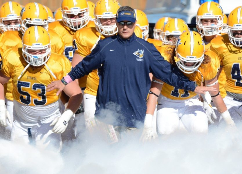 Coach Interview: Augustana Football Head Coach – Jerry Olszewski