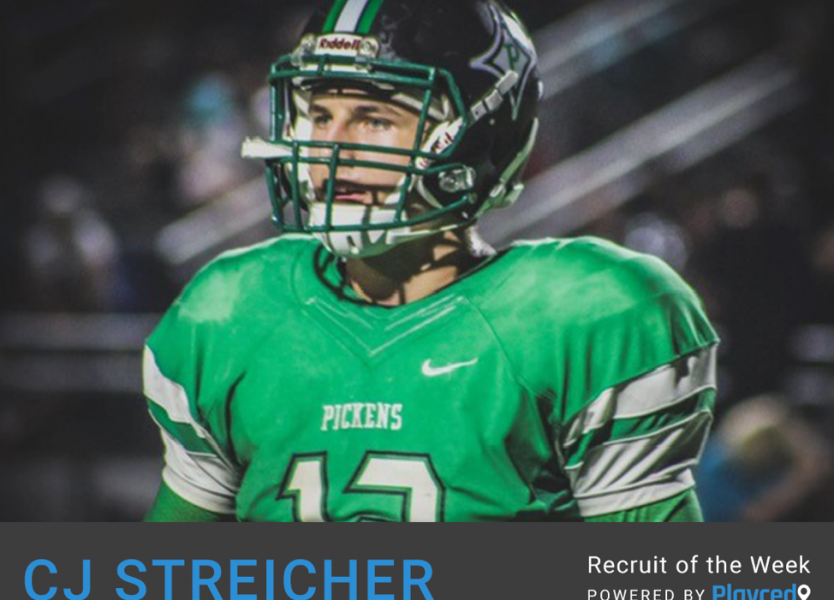 Recruit of the Week: CJ Streicher, Pickens High School (GA)