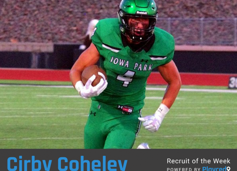Recruit of the Week: Cirby Coheley, Iowa Park High School (TX)