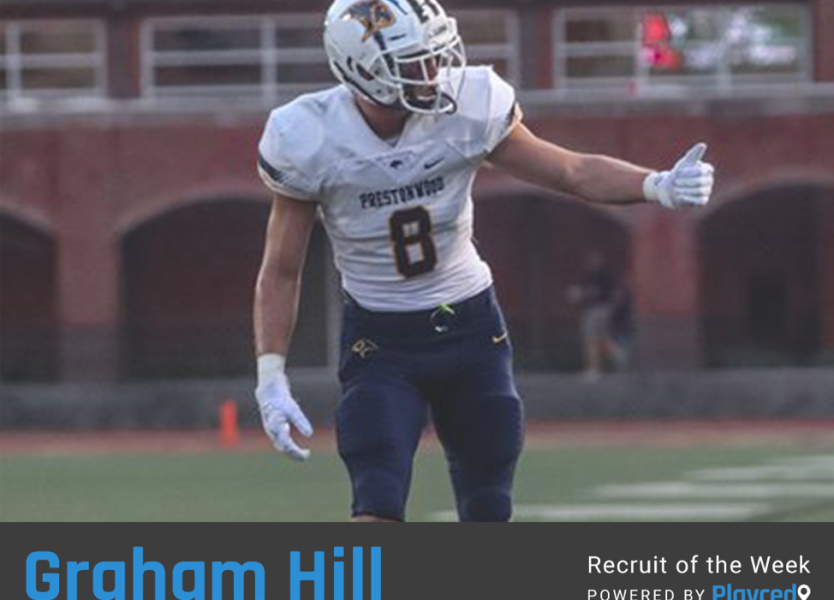 Recruit of the Week: Graham Hill, Prestonwood Christian Academy (TX)